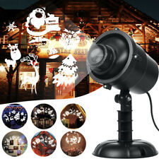 Christmas LED Projector Light Xmas Party Outdoor Landscape Lamp Protector Lamp