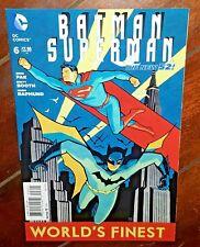 Batman/Superman 6B (2013, DC): Variant Cover by Cliff Chiang!