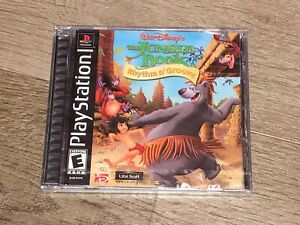 The Jungle Book Rhythm n' Groove Playstation 1 PS1 Brand New Factory Sealed