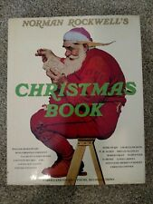 Large Norman Rockwell's Christmas Book Harry N.Abrams, Publishers 1977 Hardcover