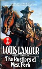 "Louis L'amour ""The rustlers of west fork"" Book Paper Back"