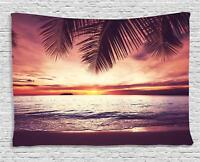 Exotic Palm Tree Tapestry Wall Hanging Art Bedroom Dorm Room Decor 2 Sizes