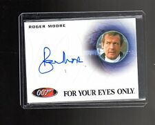 James Bond Archives Final Edition  A224 Roger Moore  Autographed card