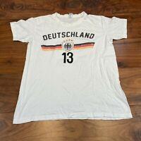 VINTAGE Sol's Mens T Shirt Small Deutschland 13 Graphic Tee