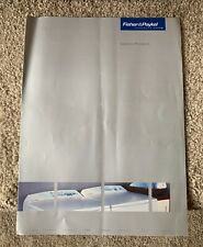 Fisher & Paykel Laundry Products Brochure Catalog 2004 Washers Dryers