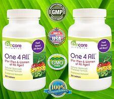 Encore One 4 All Multi Vitamin, Chelated Formula - 2 BOTTLES DEAL! Exp 1/19