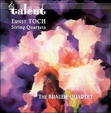 Ernst Toch: String Quartets (CD, Oct-2000, Dom Records)