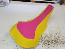 Suzuki Z 400 z400 GRIPPER seat cover pink/yellow