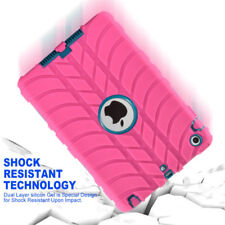 For iPad 2/3/4 Mini 3 2 1 Air 1 2/Pro 9.7 Shockproof Heavy Duty Rubber Hard Case