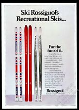 1975 Rosssignol Viva II Frontier Haute Route skis vintage print ad