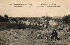 CARENCY - Les ruines et trous de marmites - La Guerre 1914-1915 Visé Paris 341