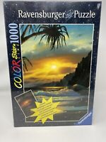 RAVENSBURGER Star Line - SUNSET BY THE SEA - 1000 Pc Jigsaw Puzzle - New Sealed