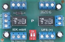 Universal-Fernschalter, UFS +, Relais bistabil 1x4 oder 2x2 UM, Relaisplatine