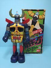 "Vintage 70s Popy Tin toys "" GAIKING "" bullmark masudaya takatoku"