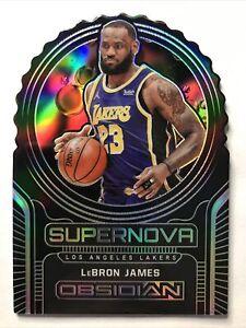 2020-21 Obsidian Lebron James #1 Supernova 76/99 Lakers