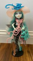 Vandala Doubloons Monster High Doll Lot With Hat And Purse Articulated