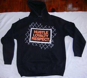 John Cena WWE Hustle Loyalty Respect Chain Gang Dog Double Mens XL Sweatshirt