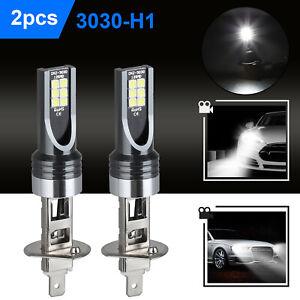 2X H1 LED Headlight Bulbs Conversion Kit 100W 14000LM 6500K High Low Beam Lamp