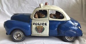 The Comic Art of Guillermo Forchino Police Car