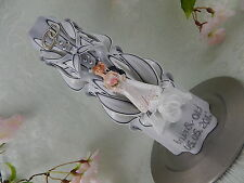Hochzeitskerze geschnitzt schwarz weiß silber inkl. Beschriftung
