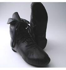 Capezio Jazz Boot Split Sole CG03 Dance Black White New In Box