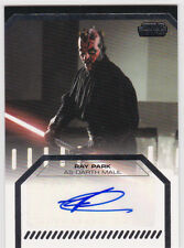 Ray Park ++ Autogramm ++ Star Wars ++ X-Men ++ Autograph