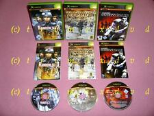 3x XBox _ Tom Clancy's Rainbow Six 3 & Full Spectrum Warrior & Project:Snowblind