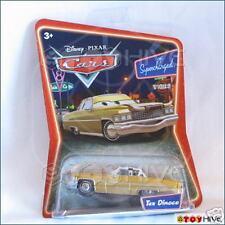Disney Pixar Cars Tex Dinoco Cadillac with cow horns supercharged series