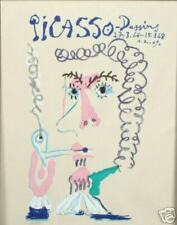 PICASSO LITHOGRAPH (AFTER) MAN SMOKING PIPE LE FUMEUR