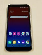 Lg Q7+ - Lm-Q610Ta - 64Gb - Blue - T-Mobile Locked - Shows No Sim Card - 46Sp