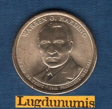 Etats Unis USA One $ 1 Dollar Président 29th Warren Harding 2014 D 1921-1923 UNC