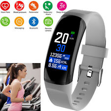 Waterproof Bluetooth Bracelet Fitness Activity Tracker For Android ios iphone LG