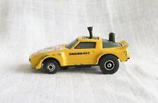 VINTAGE MATCHBOX TRICKSHIFTERS MAZDA SAVANNA RX-7 RALLY RACING CAR DIECAST 1984