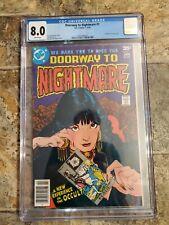 Doorway to Nightmare #1 1st App Madame Xanadu 1978 DC Comics Graded CGC 8.0