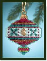 MILL HILL Counted Cross Stitch ORNAMENT Kit - HOLLY-  MH16-4303