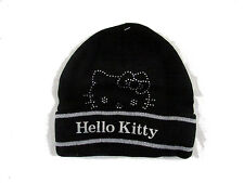 CAPPELLO BAMBINA HELLO KITTY CON STRASS - BERRETTO IDEA REGALO