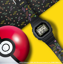 CASIO G-SHOCK Baby-G x Pokemon 25TH ANNIVERSARY Limited Edition