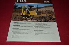 Fiat Allis FD5 Dozer Crawler Tractor Dealer's Brochure DCPA6 Ver3