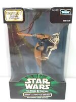 """Kenner Star Wars 1998 The Power Of The Force Stap & Battle Droid 3.75"""" NIB 84069"""