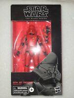 NIP Hasbro Star Wars BLACK SERIES #106 Sith Jet Trooper 6 inch Action Figure