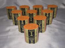 10 packs Anchor burnt orange #3 6-ply rug wool,formerly Readicut/Homemakers.