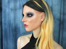 Latexmaske KEIRA +WIMPERN +PERÜCKE - Real. weibliches Frauengesicht Gummi Trans