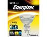 X 10 Energizer 5.5w (=50w) LED GU10 Verre Spot Ampoule 36° Blanc Chaud 3000k