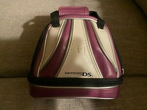 Nintendo DS Game Carrying Case Brunswick Bowling Ball Bag Purple Nds