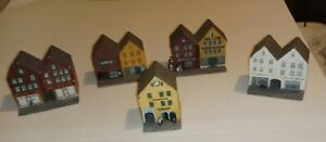 Small Town Miniature Building Collection By Candy Designs Norway