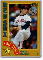 Roger Clemens 2019 Topps 1984 Topps All-Stars Oversize 5x7 Gold #84AS-RCL /10 Re