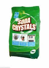 Soda Laundry Washing Crystals 1kg - Stain Remover Sinks Drains Clothing Kitchens