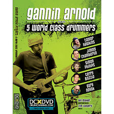 Gannin Arnold Project: 5 World Class Drummers (DVD, 2011, 2-Disc Set)