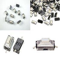 100 Pz. MICRO pulsante SMD 3x6x2,5 mm PCB pulsante tattile miniatura CHIAVI