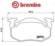 P61032 Kit pastiglie freno, Freno a disco (MARCA-BREMBO)